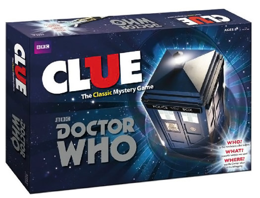 Doctor Who Clue