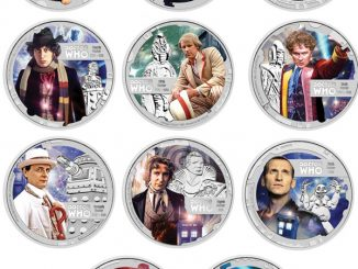 Doctor Who Coins