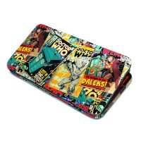 Doctor Who Comic Hinge Wallet