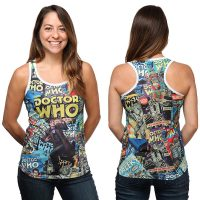 Doctor Who Comics Ladies Tank Top