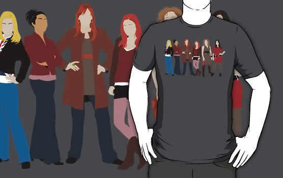 Doctor Who Companions Shirt