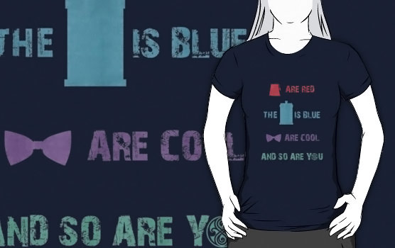 Doctor Who Cool Color Shirt