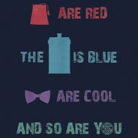 Doctor Who Cool Color TShirt