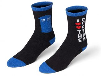 Doctor Who Cozy Socks