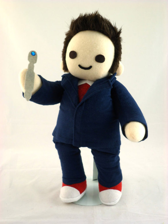 Doctor Who Cuddly Plush Tenth Time Traveler