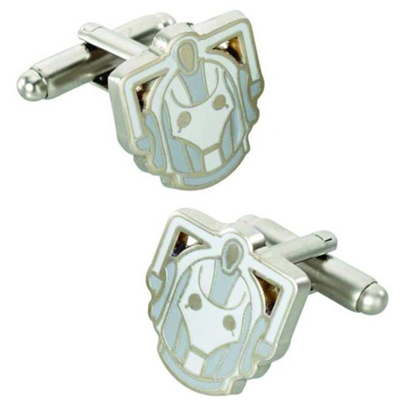 Doctor Who Cyberman Cufflinks
