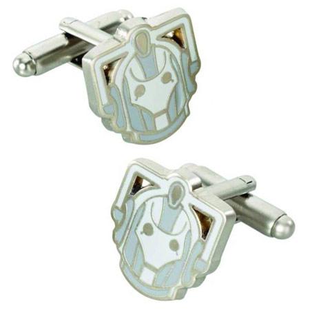 Doctor Who Cyberman Cufflinks
