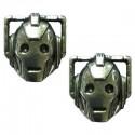 Doctor Who Cyberman Earrings