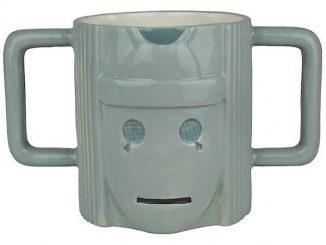 Doctor Who Cyberman Figure Mug