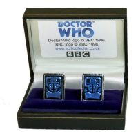 Doctor-Who-Cyberman-Logo-Cufflinks