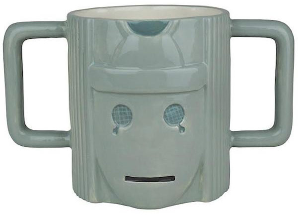 Doctor Who Cyberman Mug