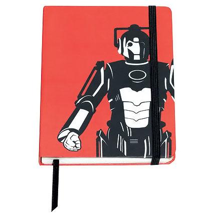 Doctor Who Cyberman Notebook