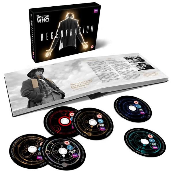 Doctor Who DVD Regeneration Boxset