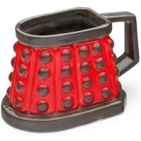 Doctor Who Dalek 3D Ceramic Mug