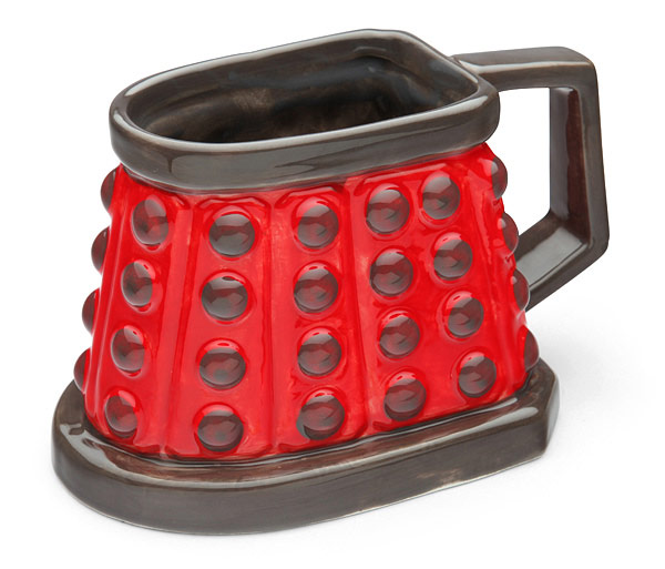 Doctor Who Dalek 3D Ceramic Mug