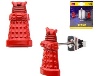 Doctor Who Dalek 3D Stud Earrings