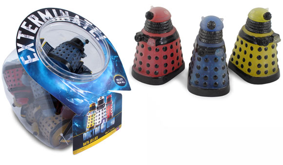 Doctor Who Dalek Bath Jellies