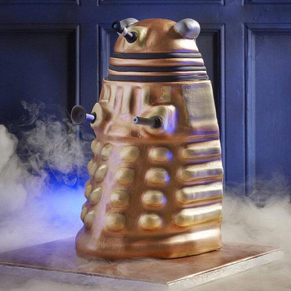 Doctor Who Dalek Cake Mould