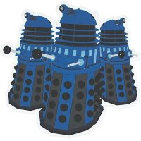 Doctor Who Dalek Coasters