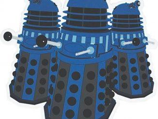 Doctor Who Dalek Coasters