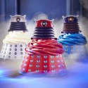 Doctor Who Dalek Cupcake Wraps and Toppers