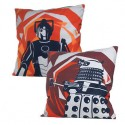 Doctor Who Dalek & Cyberman Home Cushion