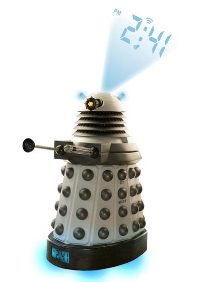 Doctor Who Dalek Digital Projection Alarm Clock
