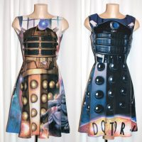 Doctor Who Dalek Dresses
