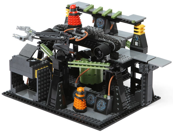 Doctor Who Dalek Factory Mini Figure Set