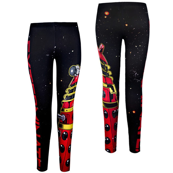 Doctor Who Dalek Leggings