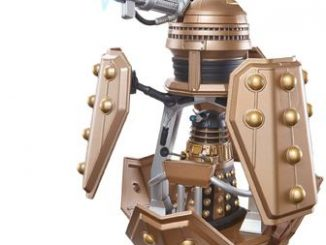 Doctor Who Dalek Patrol Ship & Figure