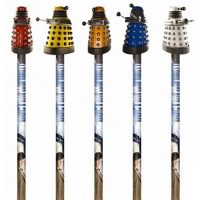 Doctor Who Dalek Pencil Toppers