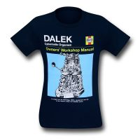 Doctor Who Dalek Repair Manual Tee