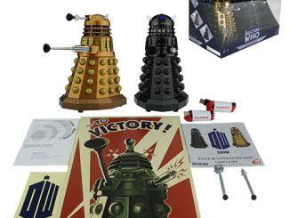 Doctor Who Dalek Sec and Assault Dalek Bluetooth Speaker Pack