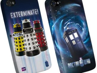 Doctor Who Dalek & TARDIS iPhone 4 Case
