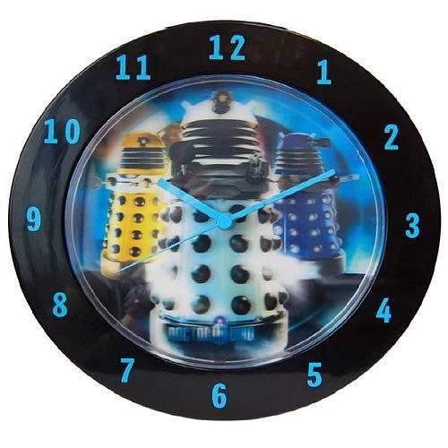 Doctor Who Dalek Wall Clock