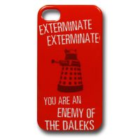 Doctor Who Daleks Exterminate iPhone Case