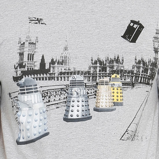 Doctor Who Daleks In London Shirt