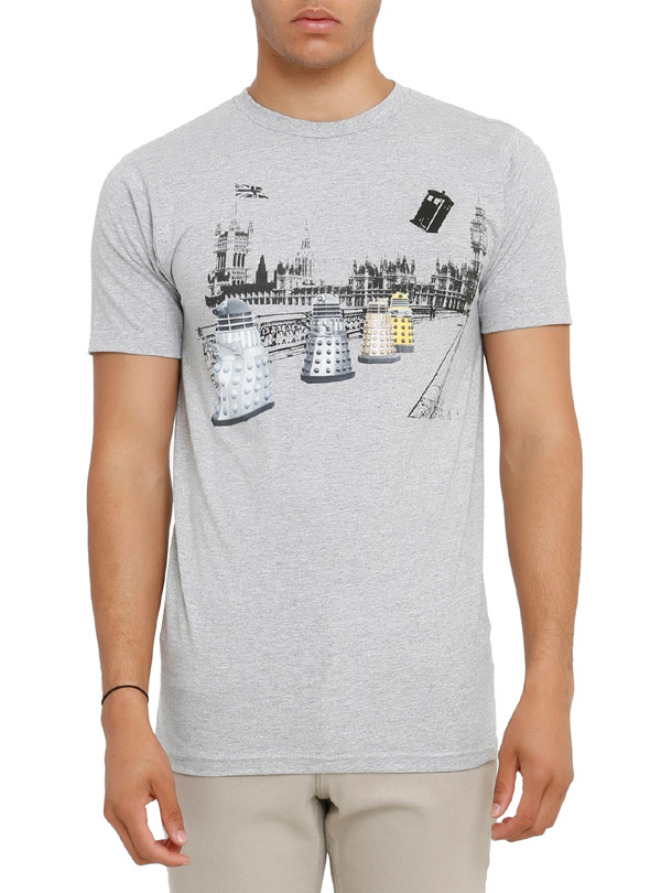 Doctor Who Daleks In London T-Shirt
