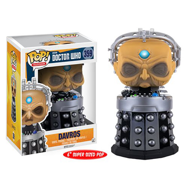 Doctor Who Davros 6-Inch Pop Vinyl Figure