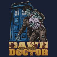Doctor Who Dawn of the Doctor Zombie T-Shirt
