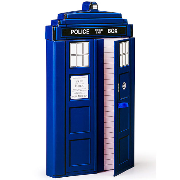 Doctor Who Deluxe TARDIS Journal