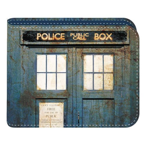 Doctor Who Distressed TARDIS Wallet