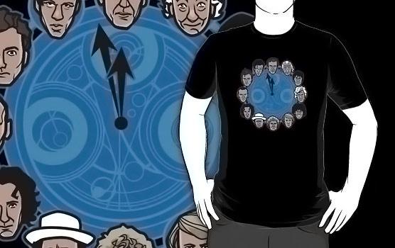 Doctor Who Doc Around the Clock Shirt