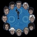 Doctor Who Doc Around the Clock TShirt