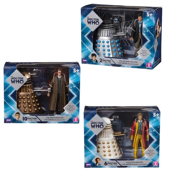 Doctor Who Doctor and Dalek Wave 1 Sets
