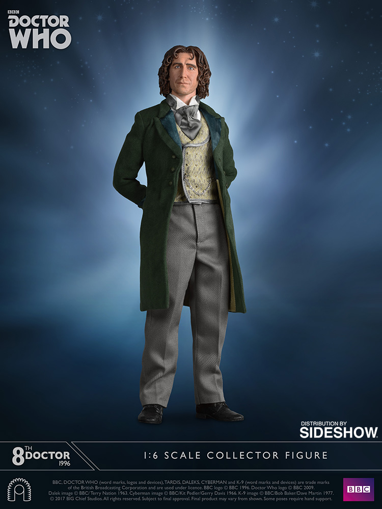 Doctor Who Eighth Doctor Sixth Scale Figure