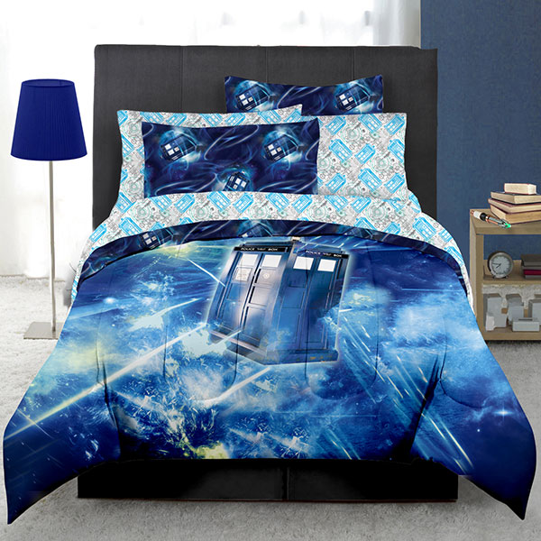 Doctor Who Electrical TARDIS Bed In A Bag