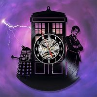 Doctor Who Eleventh Doctor Vinyl Clock