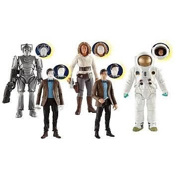 Doctor Who Eleventh Doctor Wave 8 Action Figures Set